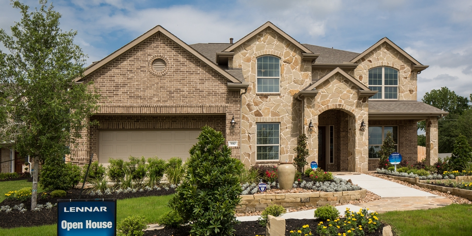 Lennar homes in katy falls at green meadows for How to become a home builder in texas