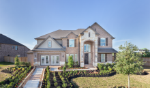 Lennar model home in Falls at Green Meadows